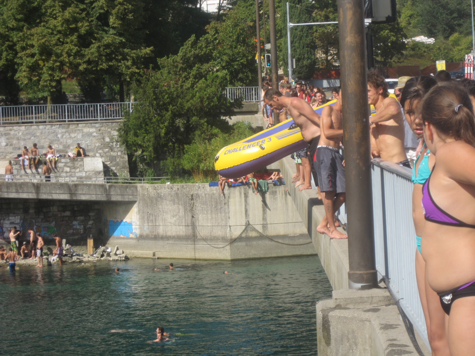 Img Inflatable Bridge France