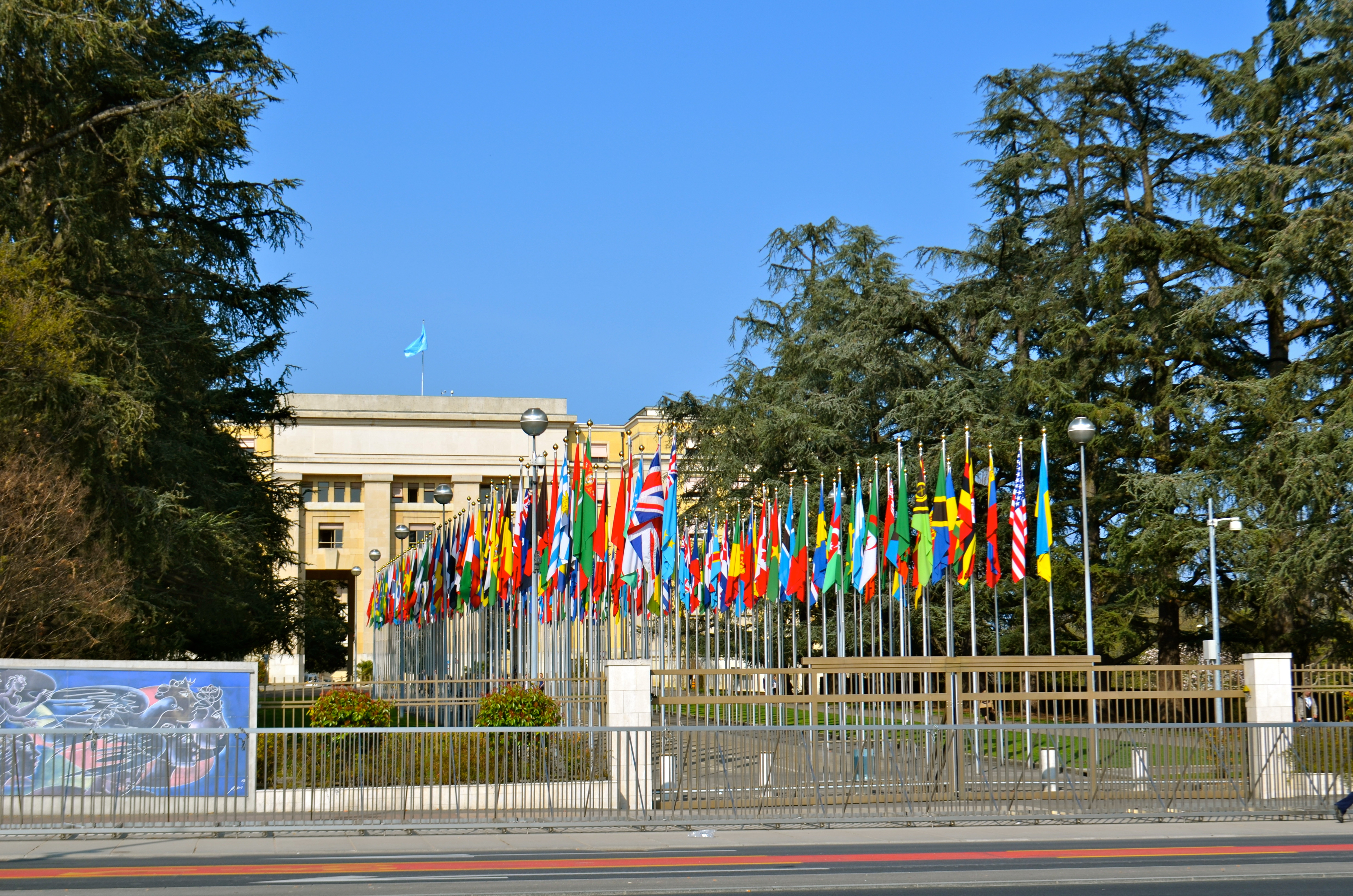 Touring The Palais des Nations, The United Nations In Geneva ...