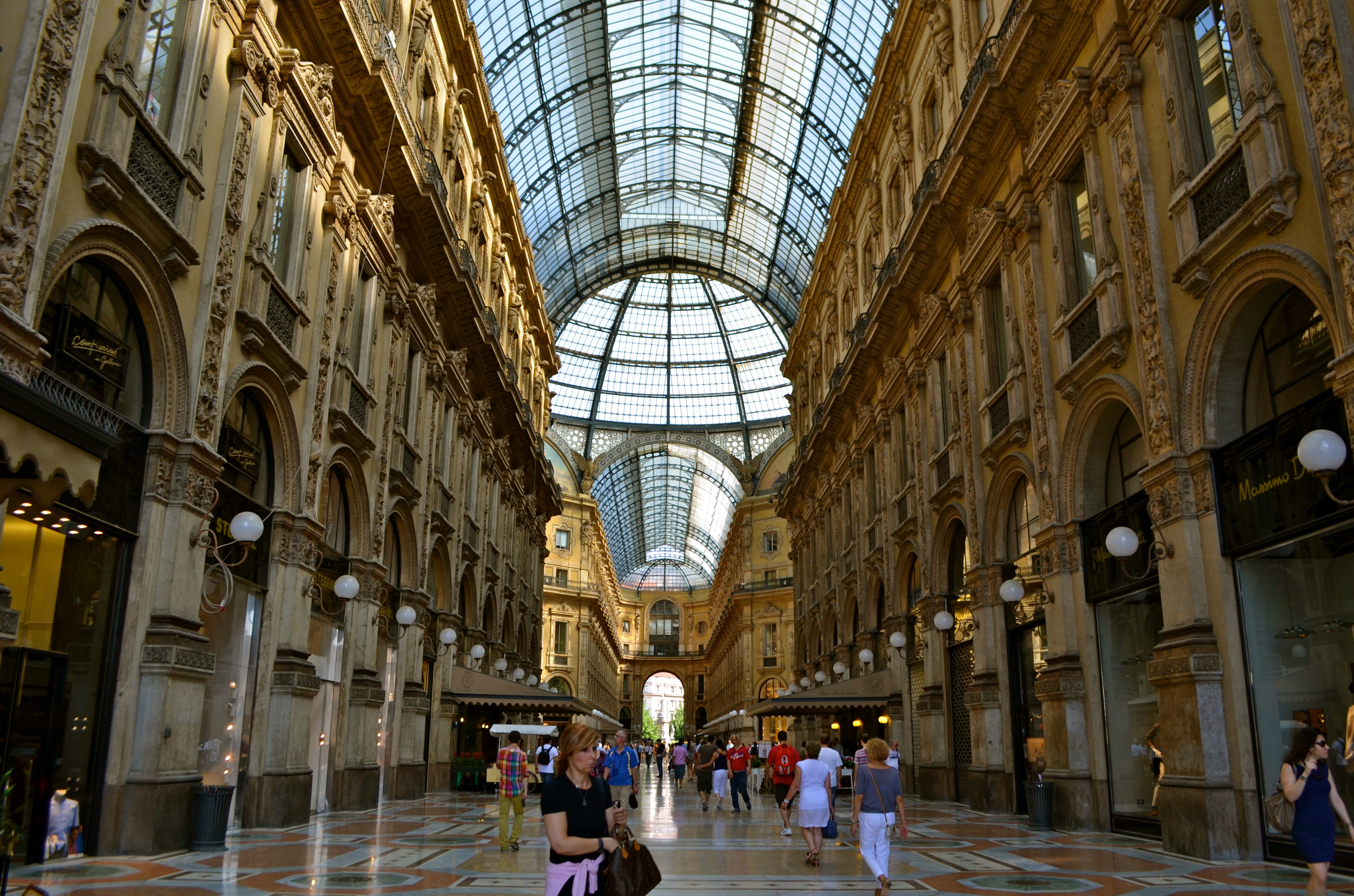 Next to Milan   s Duomo   is Galleria Vittorio Emanuele II   a four