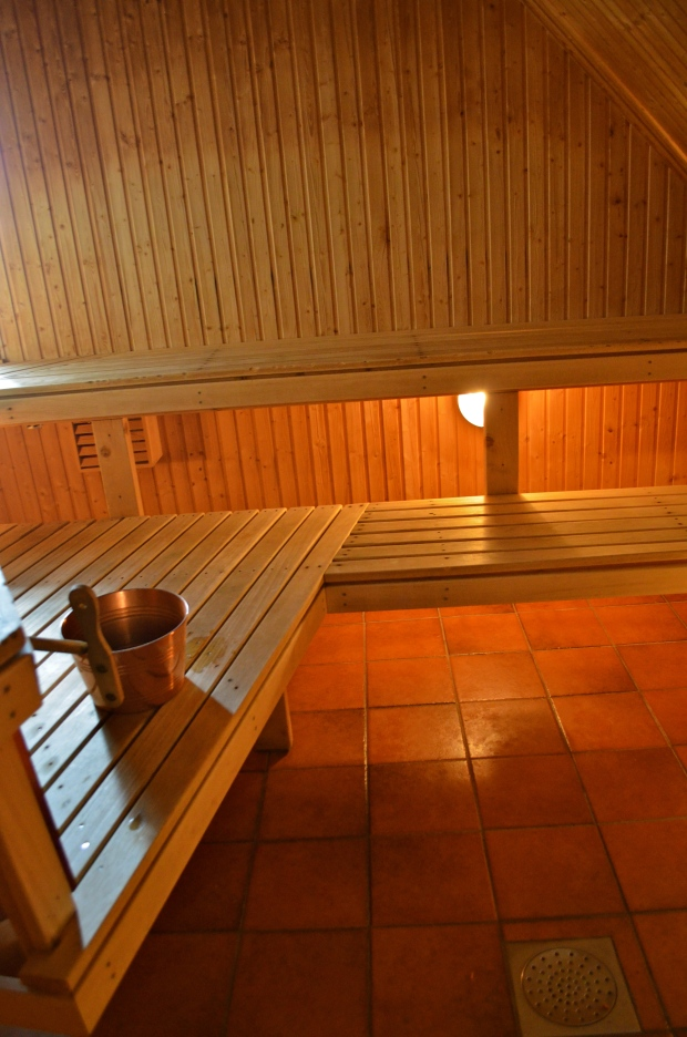 build wood fired sauna